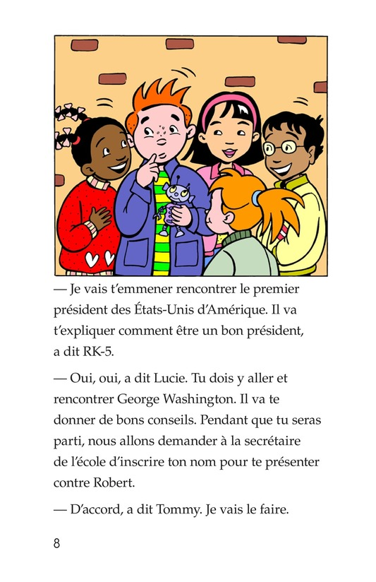 Book Preview For Tommy For President Page 8
