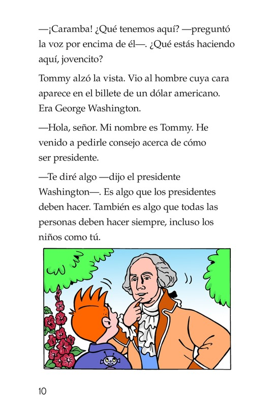 Book Preview For Tommy For President Page 10