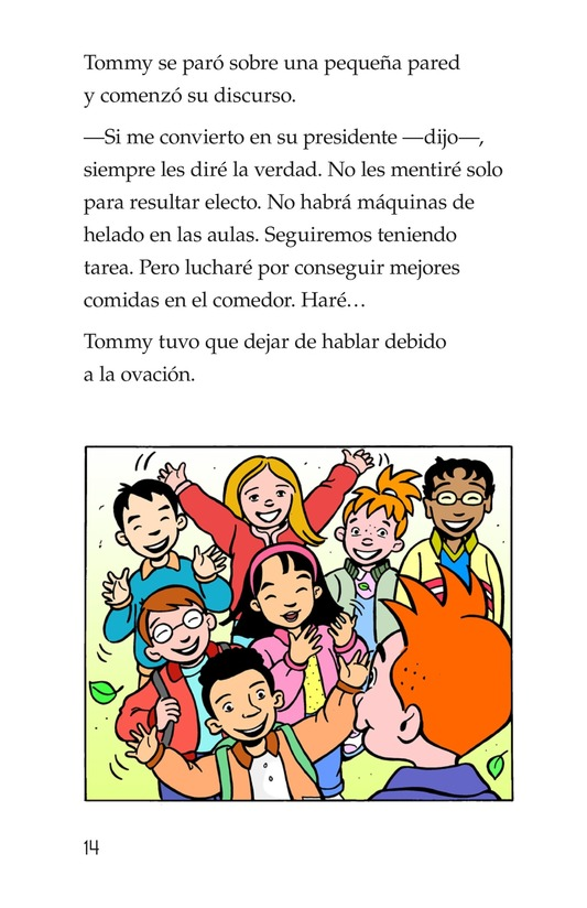 Book Preview For Tommy For President Page 14