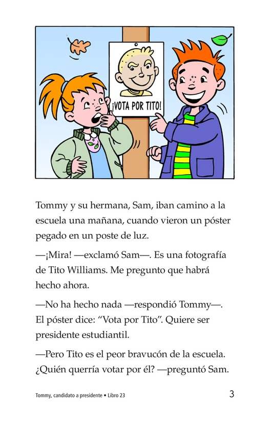Book Preview For Tommy For President Page 3