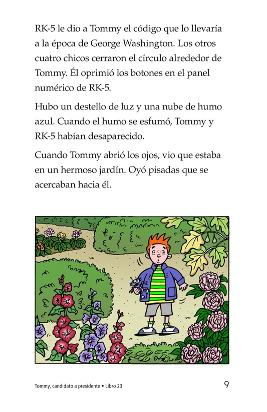Book Preview For Tommy For President Page 9