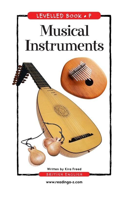 Book Preview For Musical Instruments Page 1