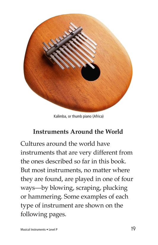 Book Preview For Musical Instruments Page 19