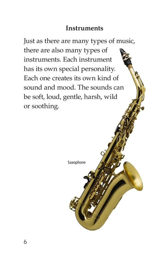 Book Preview For Musical Instruments Page 6