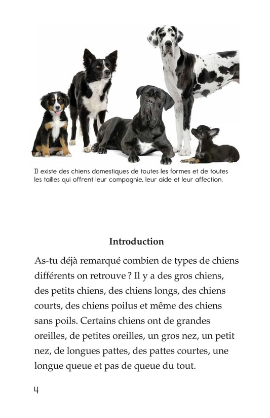Book Preview For Breeds of Dogs Page 4