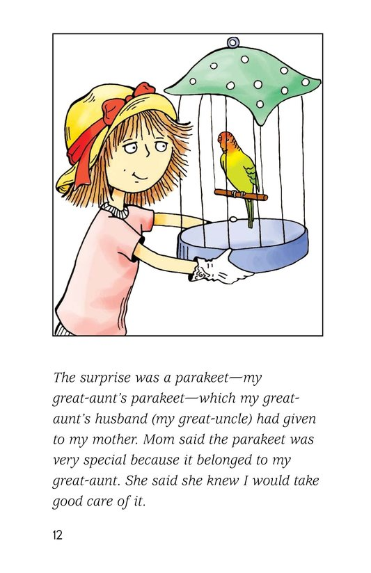 Book Preview For A Late Night Chat with a Parakeet Page 12