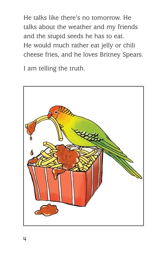 Book Preview For A Late Night Chat with a Parakeet Page 4