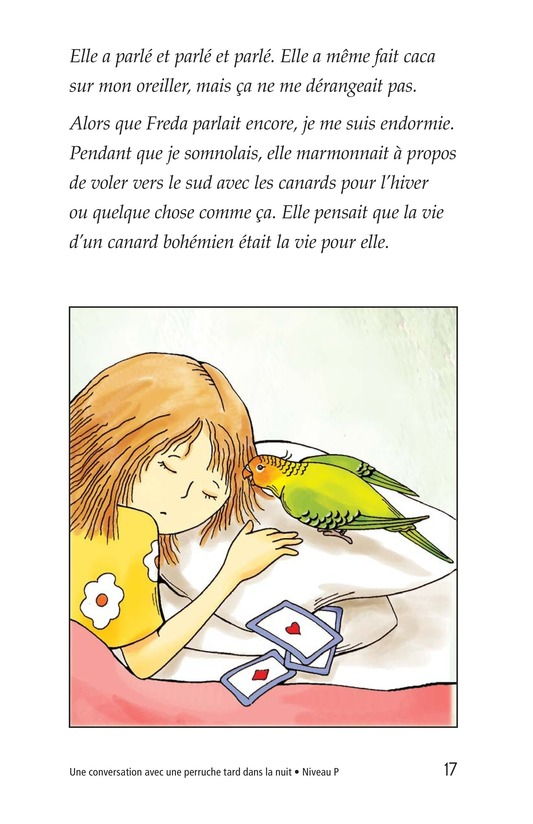 Book Preview For A Late Night Chat with a Parakeet Page 17