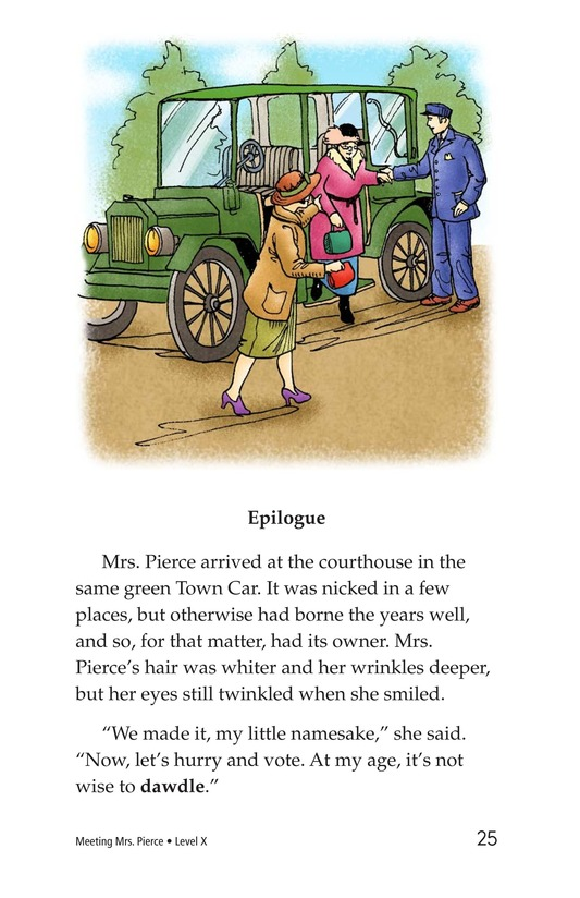 Book Preview For Meeting Mrs. Pierce Page 25