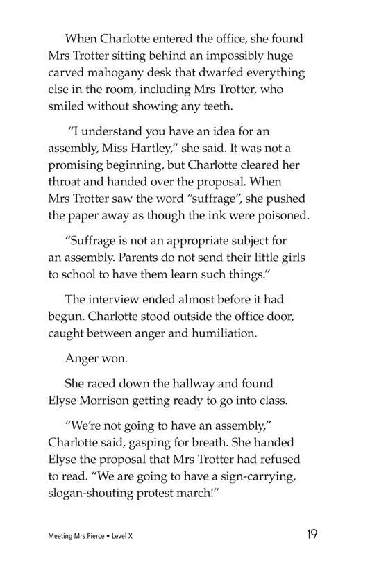 Book Preview For Meeting Mrs. Pierce Page 19