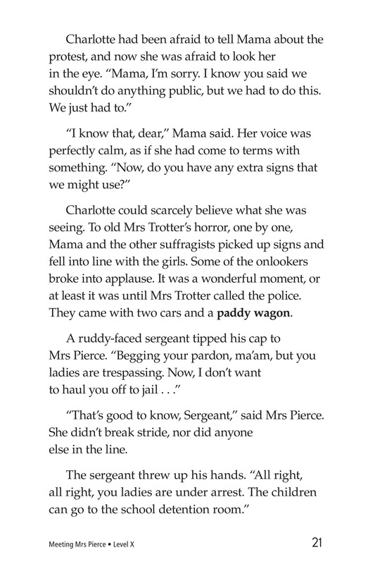 Book Preview For Meeting Mrs. Pierce Page 21