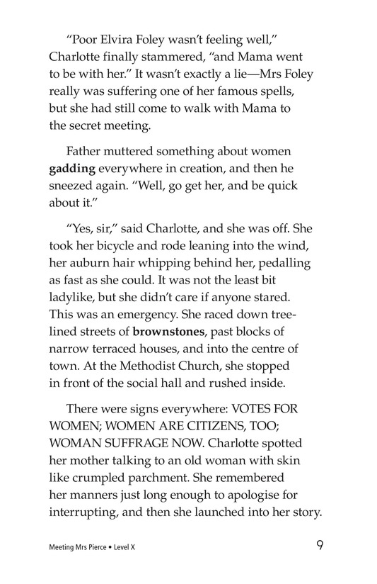 Book Preview For Meeting Mrs. Pierce Page 9