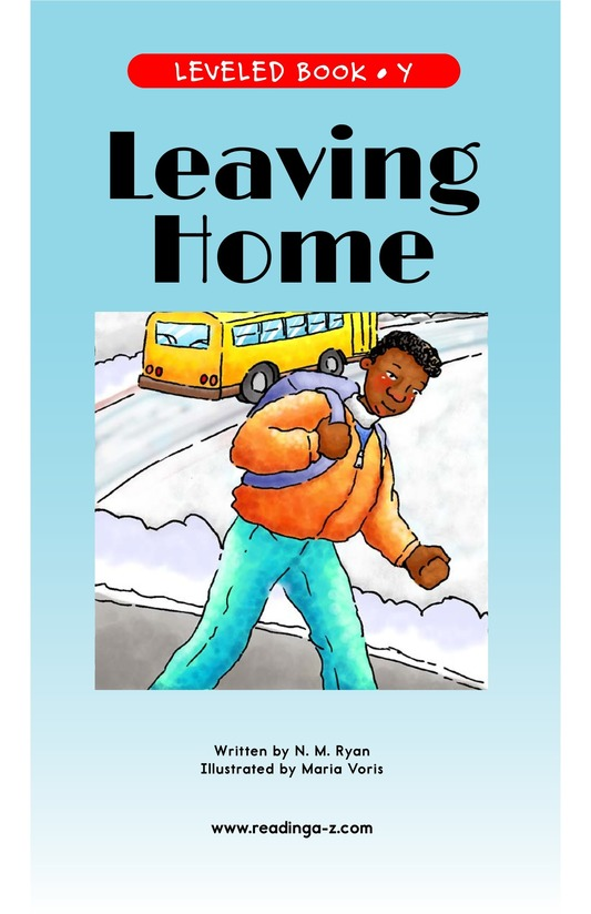 Book Preview For Leaving Home Page 1