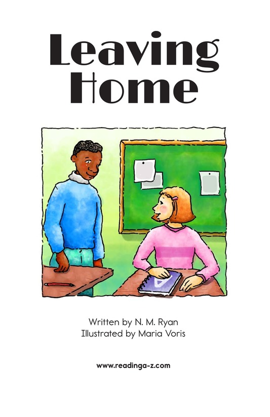 Book Preview For Leaving Home Page 2