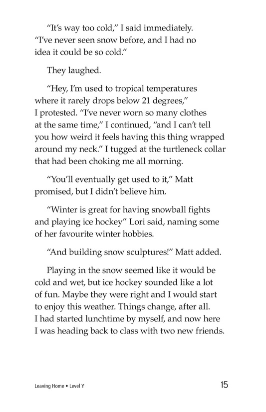 Book Preview For Leaving Home Page 15