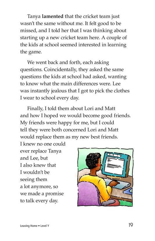 Book Preview For Leaving Home Page 19