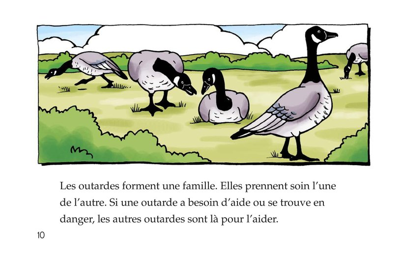 Book Preview For Migrating Geese Page 10