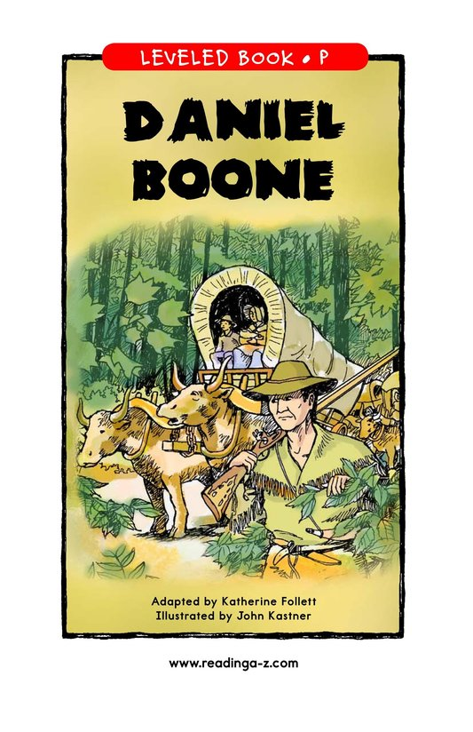 Book Preview For Daniel Boone Page 1
