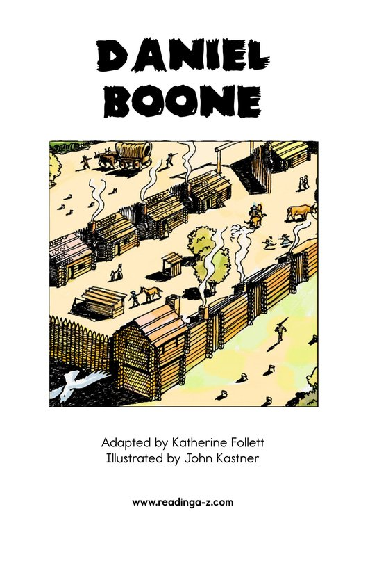 Book Preview For Daniel Boone Page 2