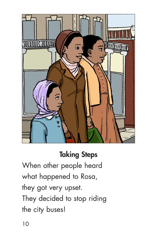Book Preview For Riding With Rosa Parks Page 10