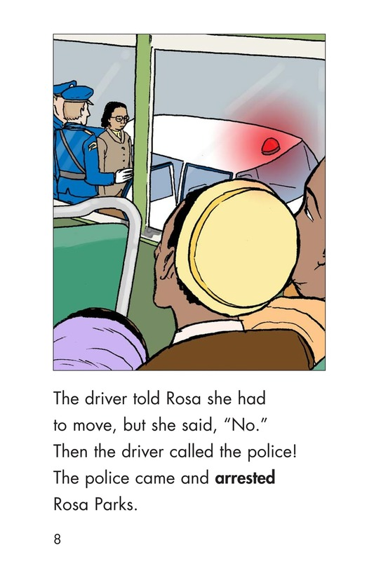 Book Preview For Riding With Rosa Parks Page 8