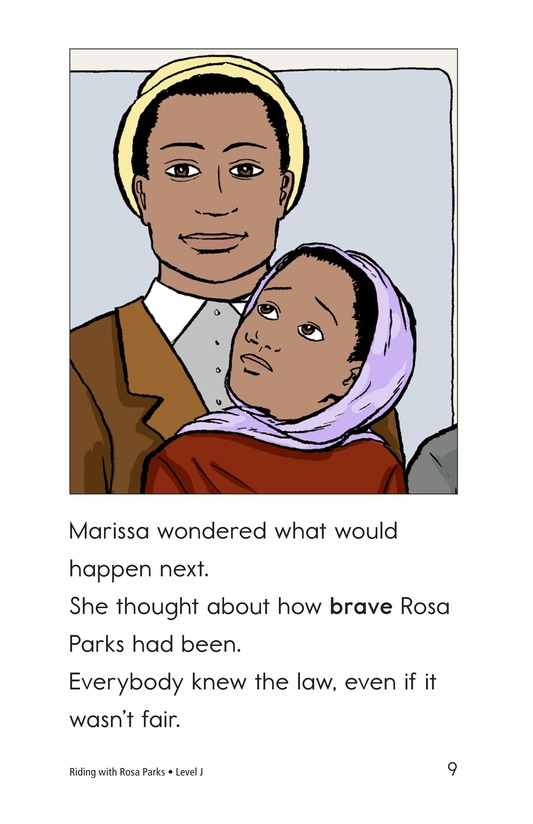 Book Preview For Riding With Rosa Parks Page 9