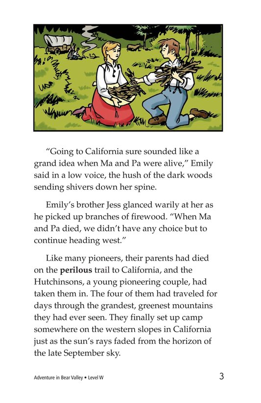 Book Preview For Adventure in Bear Valley Page 3