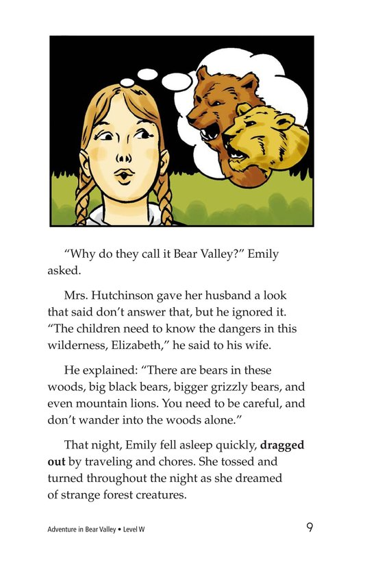 Book Preview For Adventure in Bear Valley Page 9