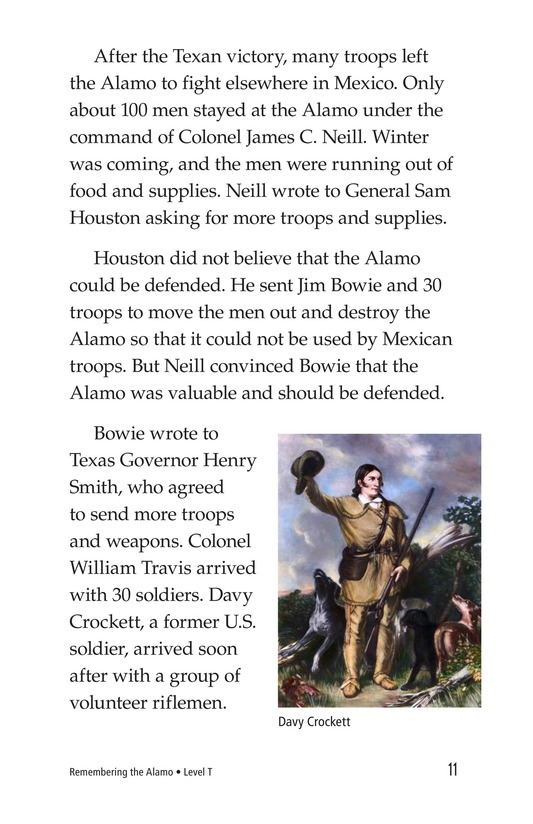 Book Preview For Remembering the Alamo Page 11