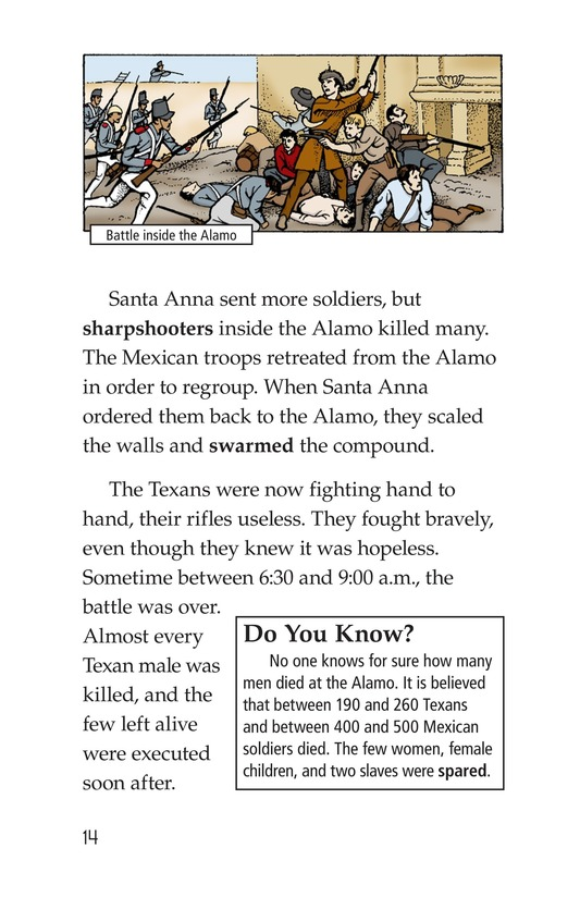 Book Preview For Remembering the Alamo Page 14