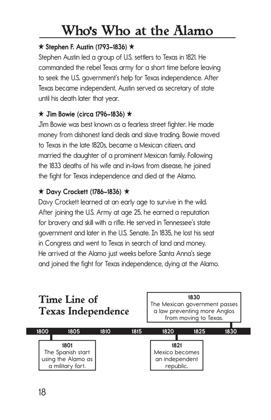 Book Preview For Remembering the Alamo Page 18