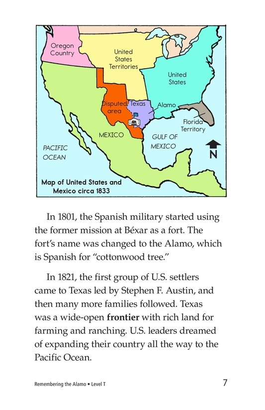 Book Preview For Remembering the Alamo Page 7