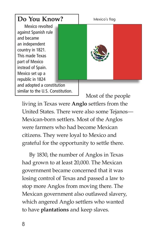 Book Preview For Remembering the Alamo Page 8