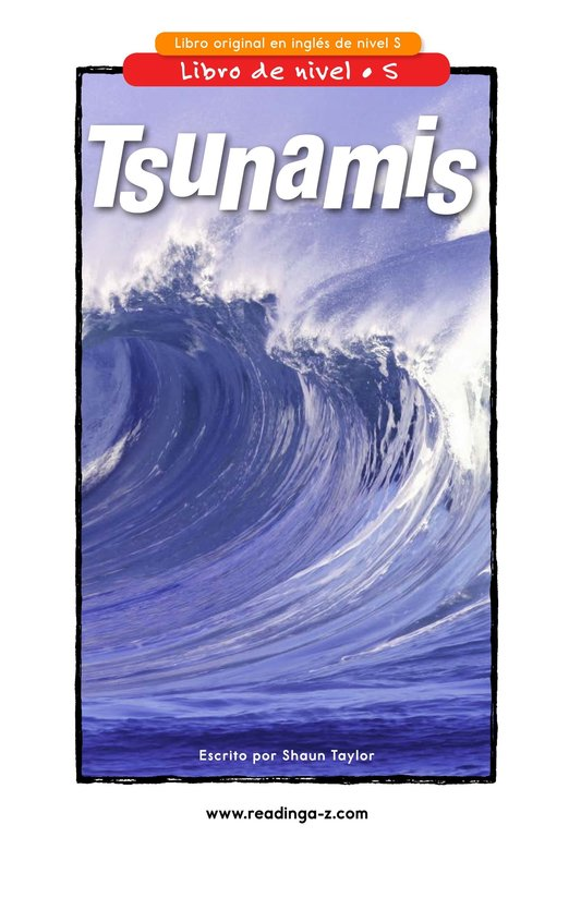 Book Preview For Tsunamis Page 1