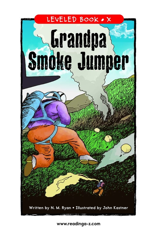 Book Preview For Grandpa Smoke Jumper Page 1