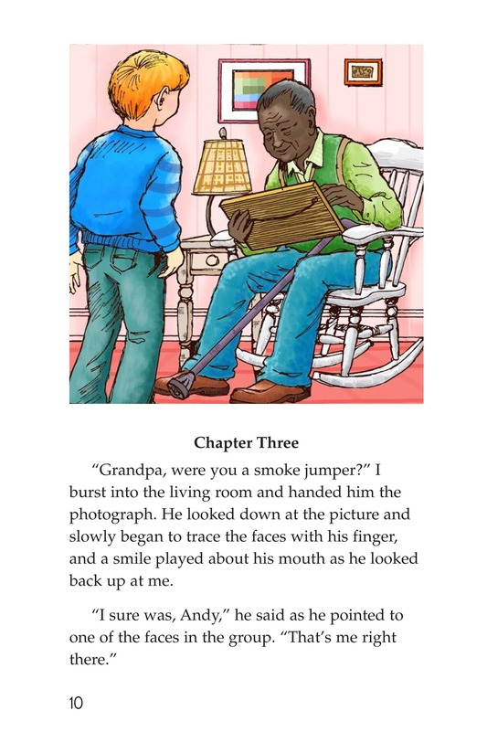 Book Preview For Grandpa Smoke Jumper Page 10