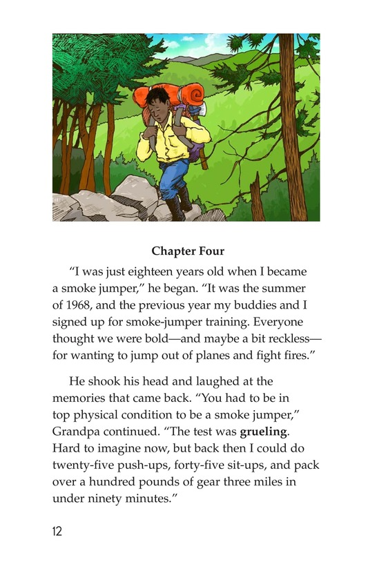 Book Preview For Grandpa Smoke Jumper Page 12