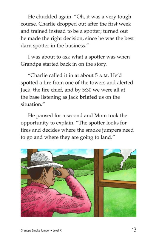 Book Preview For Grandpa Smoke Jumper Page 13