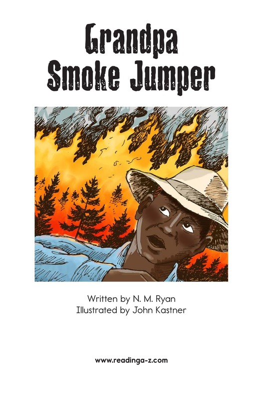 Book Preview For Grandpa Smoke Jumper Page 2