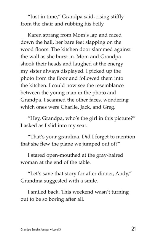 Book Preview For Grandpa Smoke Jumper Page 21