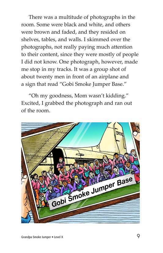 Book Preview For Grandpa Smoke Jumper Page 9