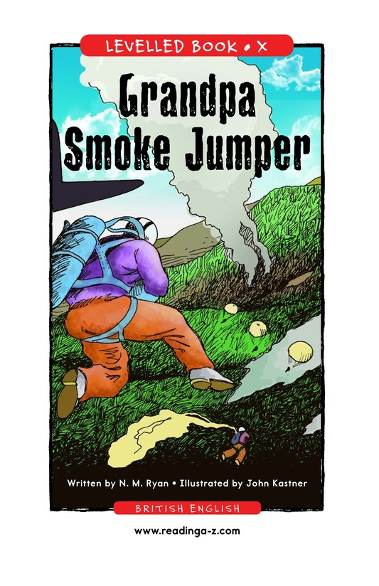 Book Preview For Grandpa Smoke Jumper Page 1