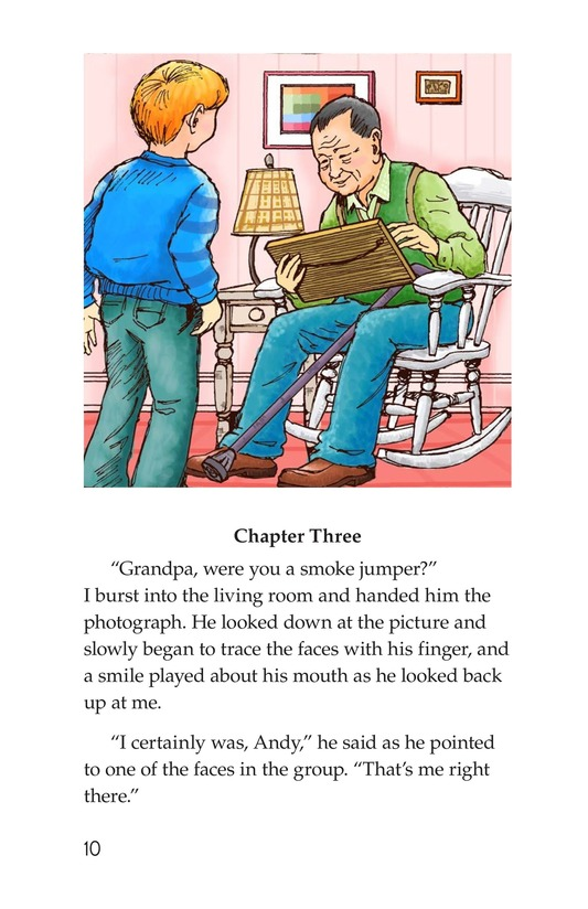 Book Preview For Grandpa Smoke Jumper Page 10
