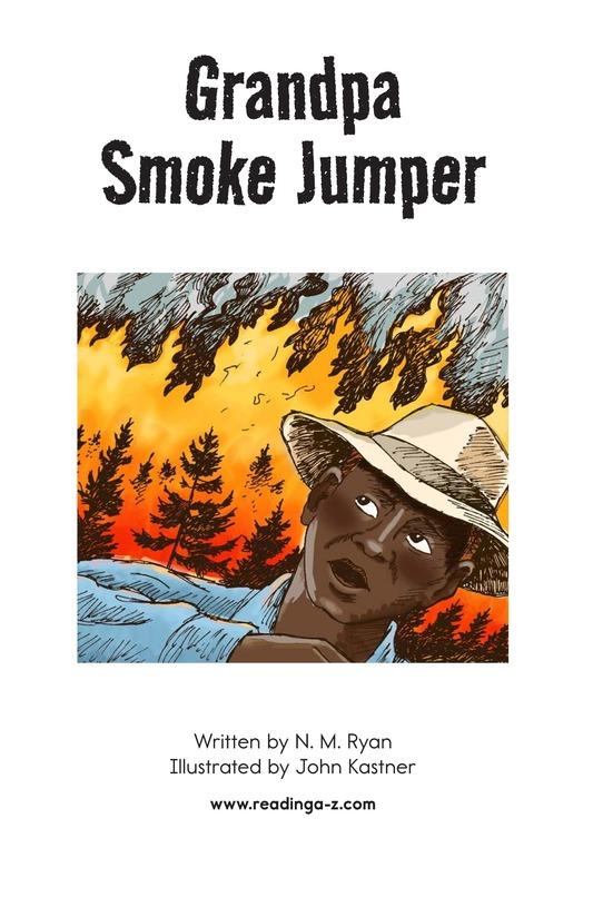 Book Preview For Grandpa Smoke Jumper Page 2