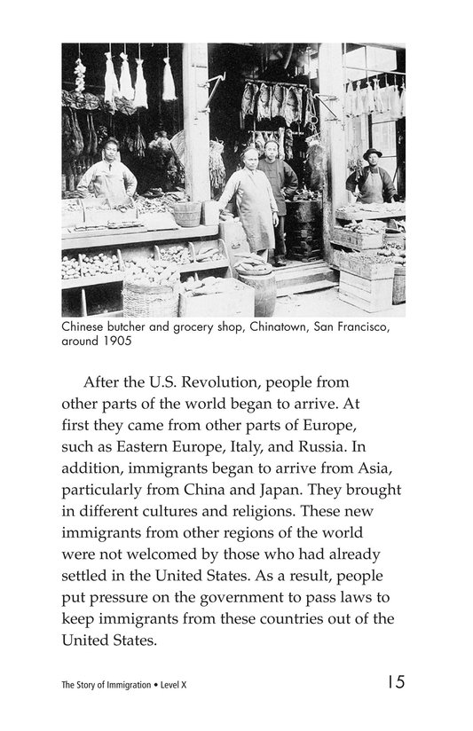 Book Preview For The Story of Immigration Page 15