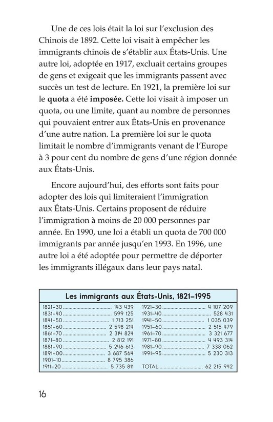 Book Preview For The Story of Immigration Page 16