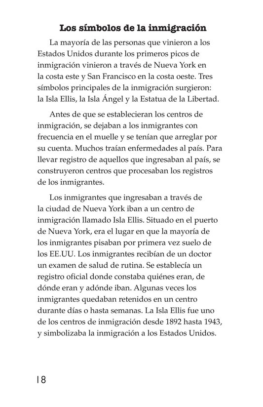 Book Preview For The Story of Immigration Page 18