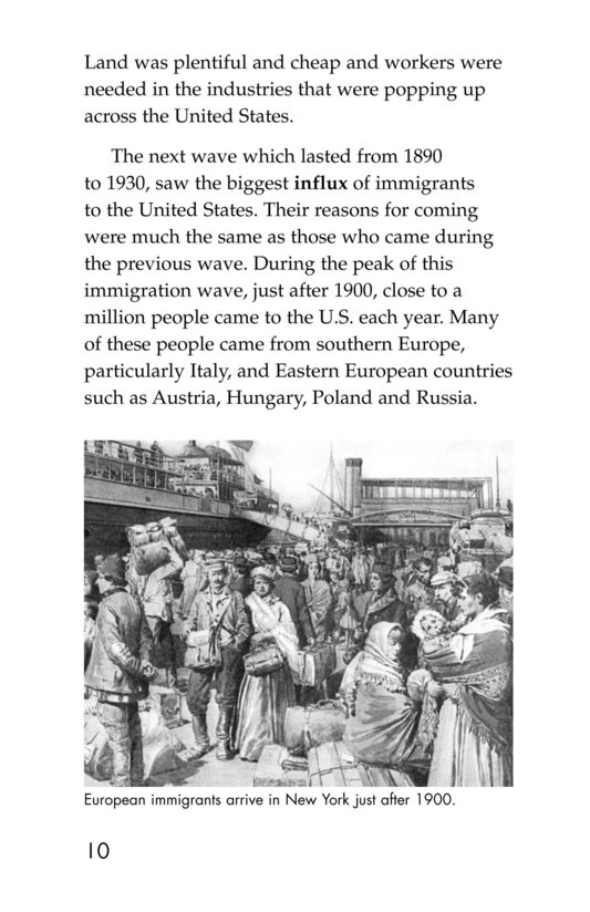 Book Preview For The Story of Immigration Page 10
