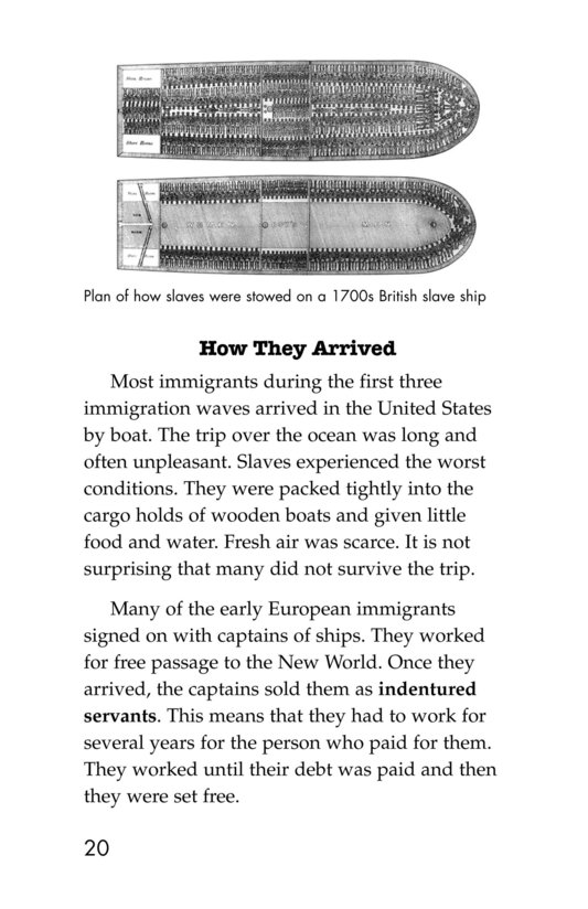 Book Preview For The Story of Immigration Page 20