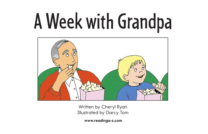 Book Preview For A Week With Grandpa Page 2